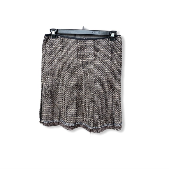 Elie Tahari Wool Blend Skirt Lined